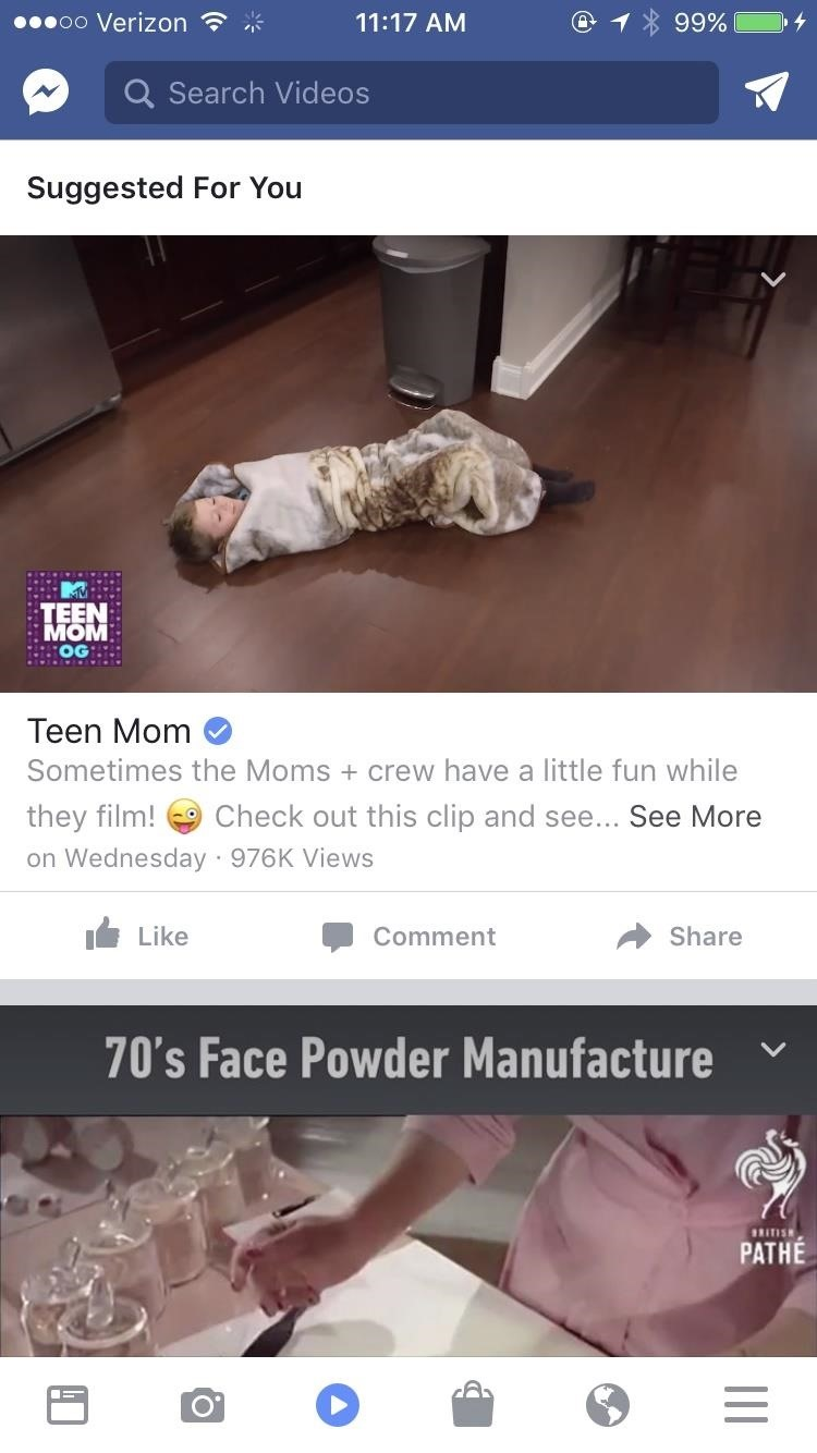 Revamped Video Tab Testing Shows Facebook Really Wants to Compete with YouTube