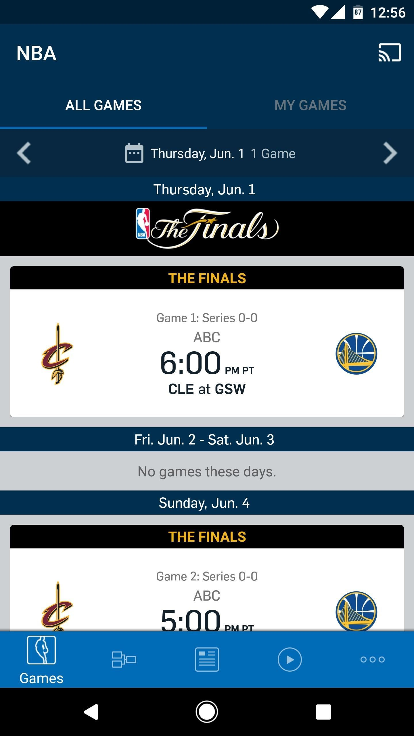 how to watch nba live streaming on iphone