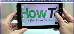 Take photos using the Samsung Galaxy Tab's built-in camera