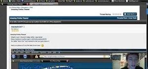 Install a Windows 7-style Aero theme in Firefox