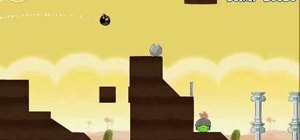 Beat Angry Birds level 3-13 with three stars