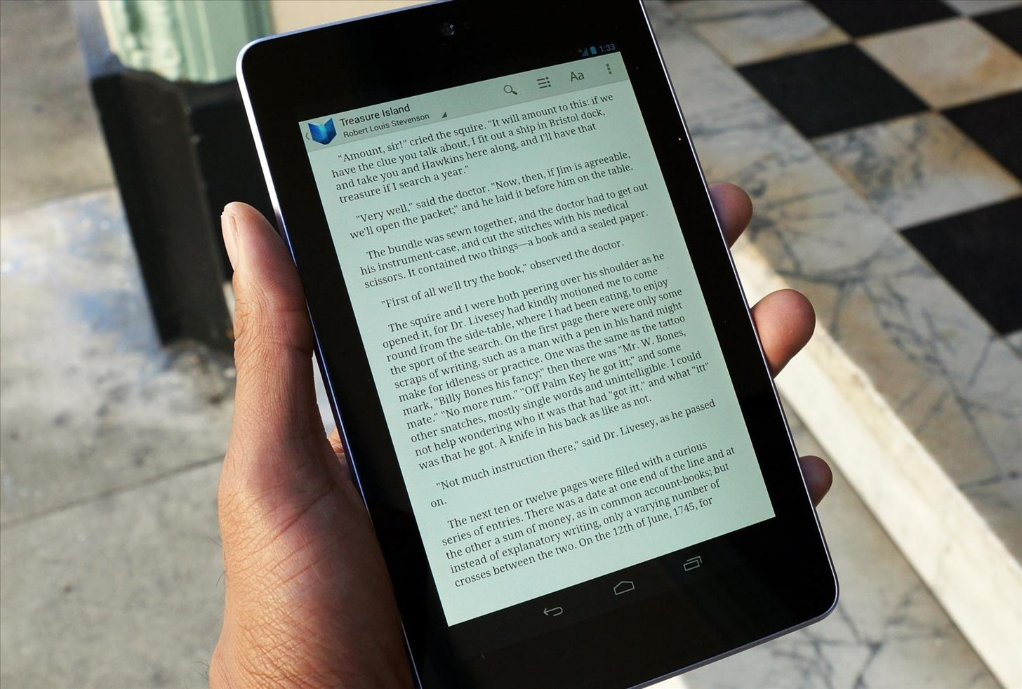 How to Prevent the Screen on Your Nexus 7 from Shutting Down on You While You Read