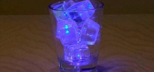 Make LED ice cubes