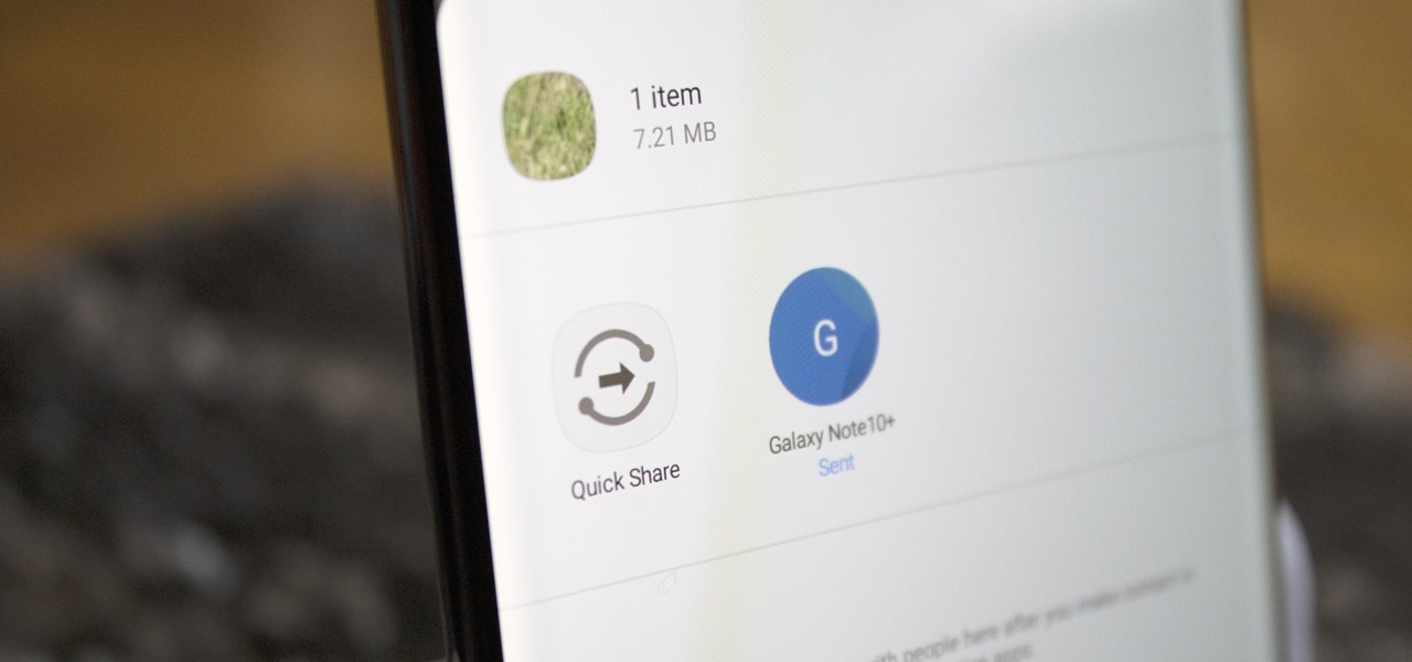 Use Samsung's New Quick Share Feature to 'AirDrop' Large Files