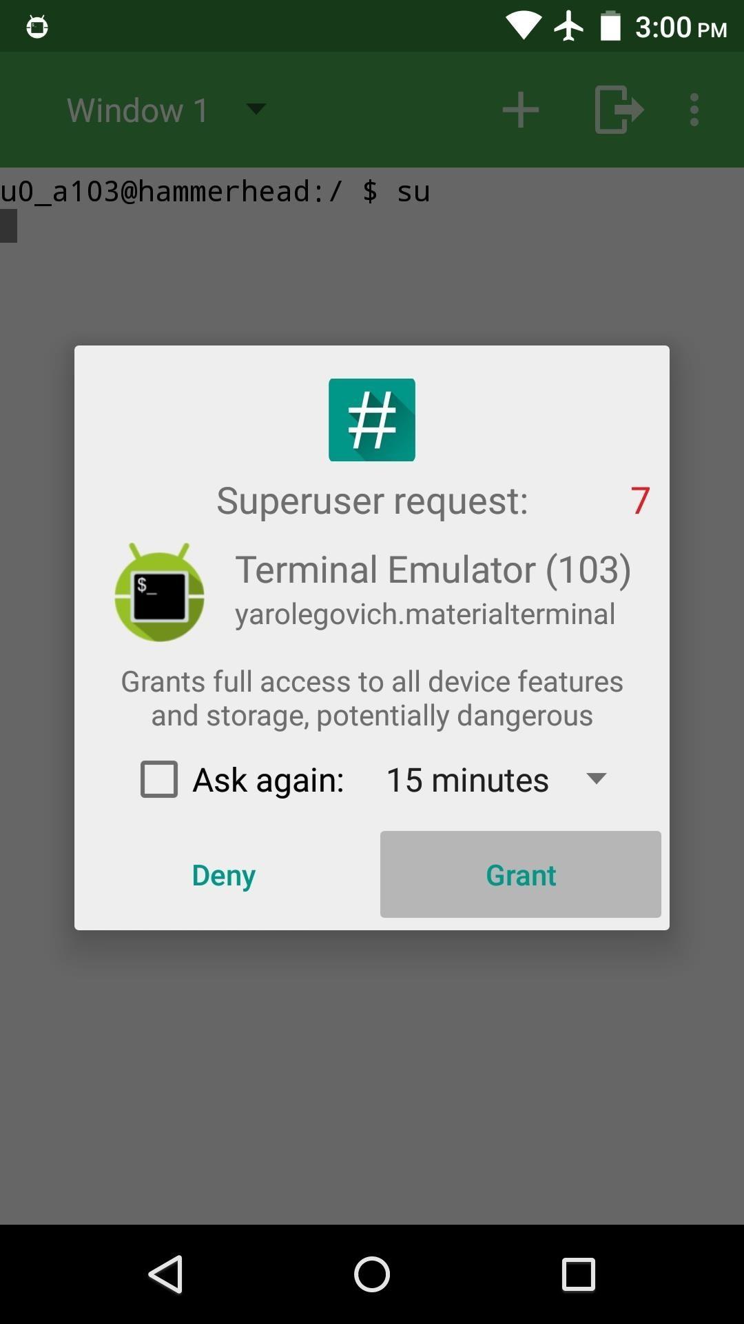 Bring Android's Command Prompt into the 21st Century with Material