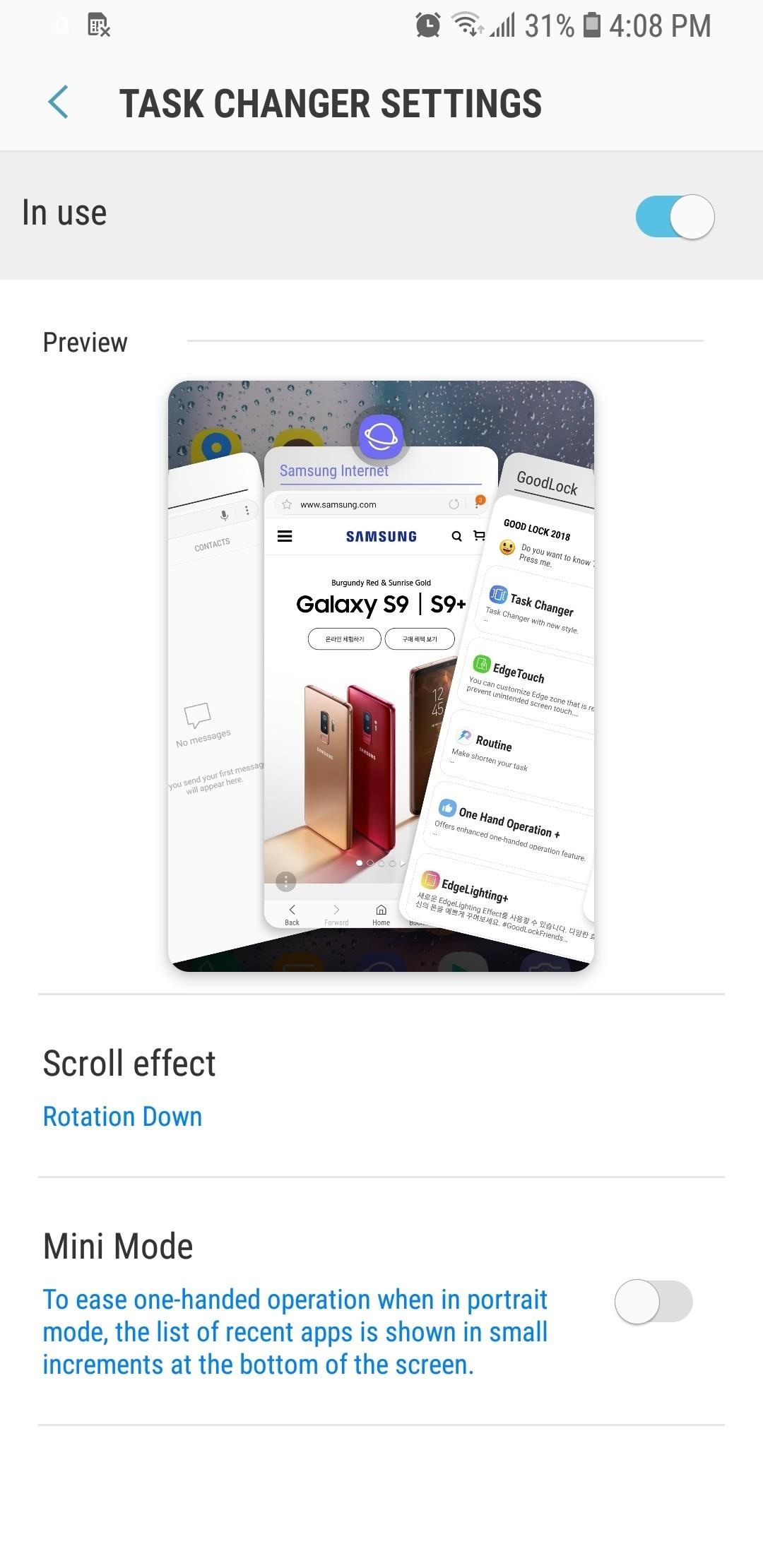 Get Android P-Style Multitasking on Your Galaxy S8 or S9