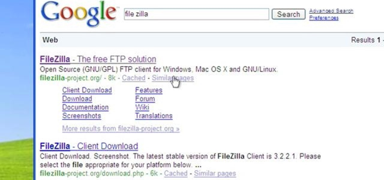 how to change ftp password in filezilla