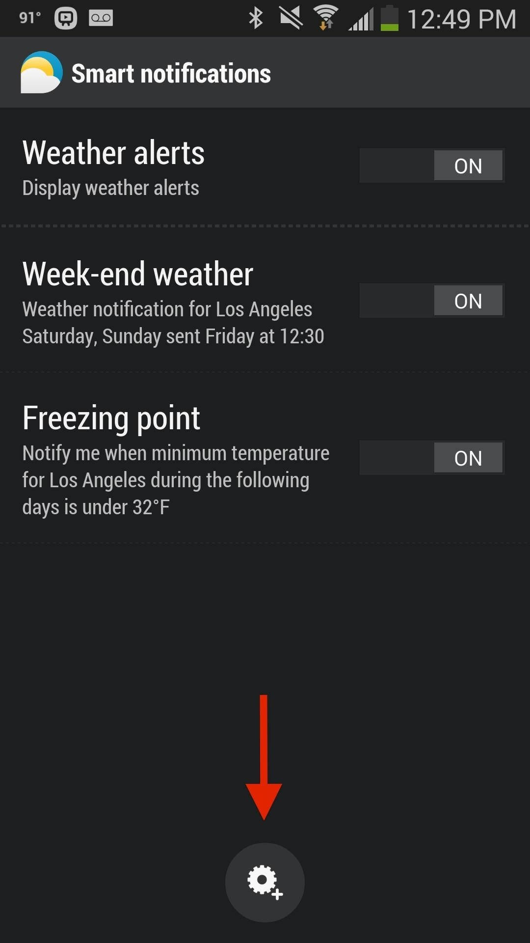 How to Set Up Weather Alerts for Perfect Beach Temperatures on Your Galaxy Note 3