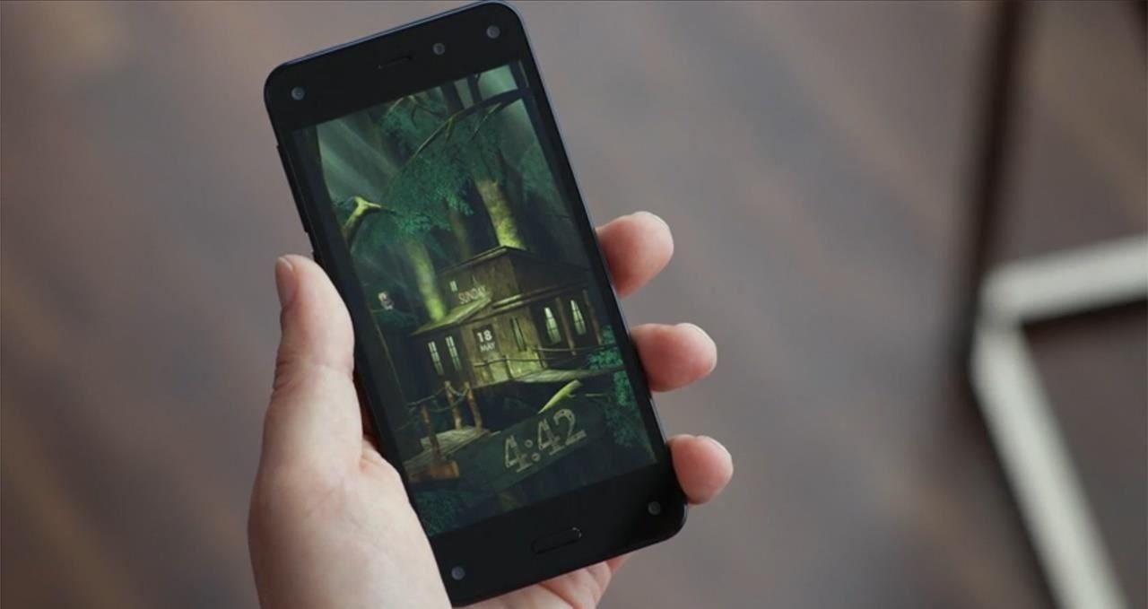 The 3D-Viewing, Gesture-Controlled Amazon Fire Phone Has Arrived