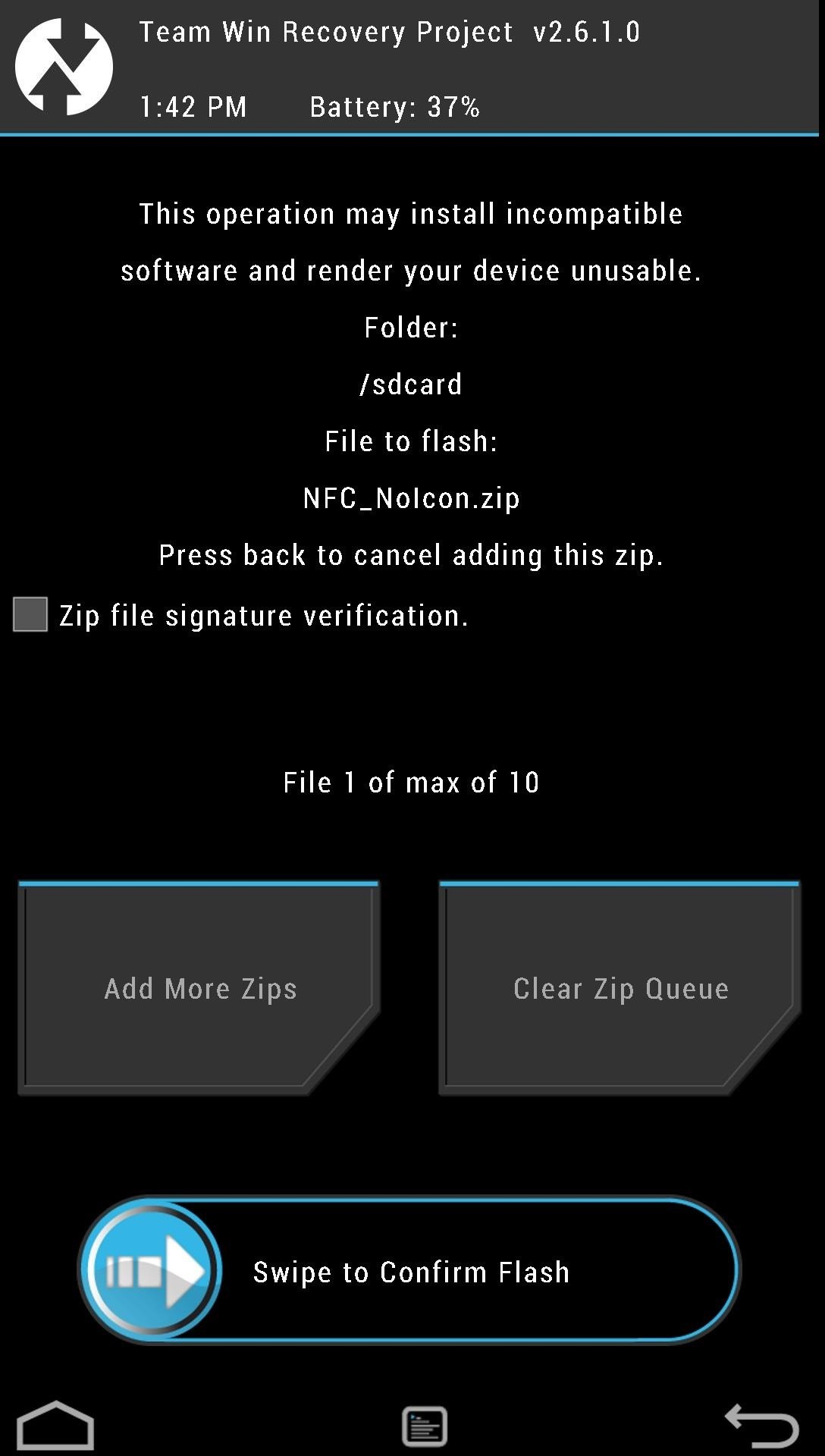 How to Hide That Pesky NFC Icon from Your HTC One's Status Bar (Root Required)