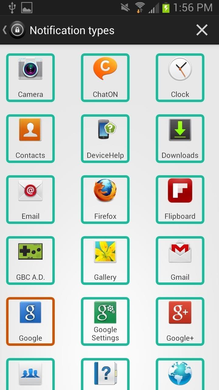 Symbols notification dating app List of