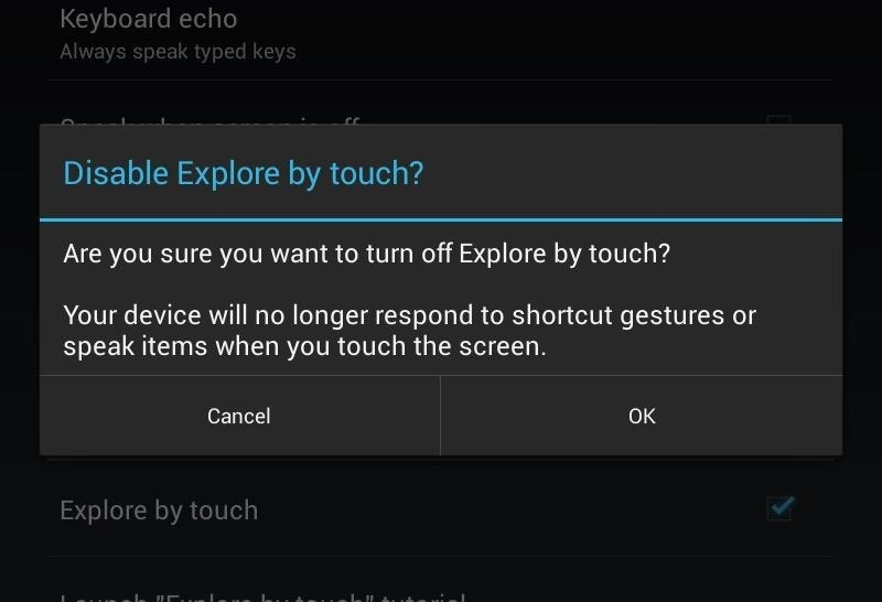How to Fix Lock Screen Issues When TalkBack & Explore by