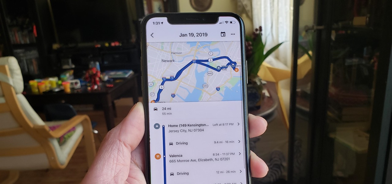 View & Manage Your Location History on Google Maps to Track Where You've Been & What You We're Doing