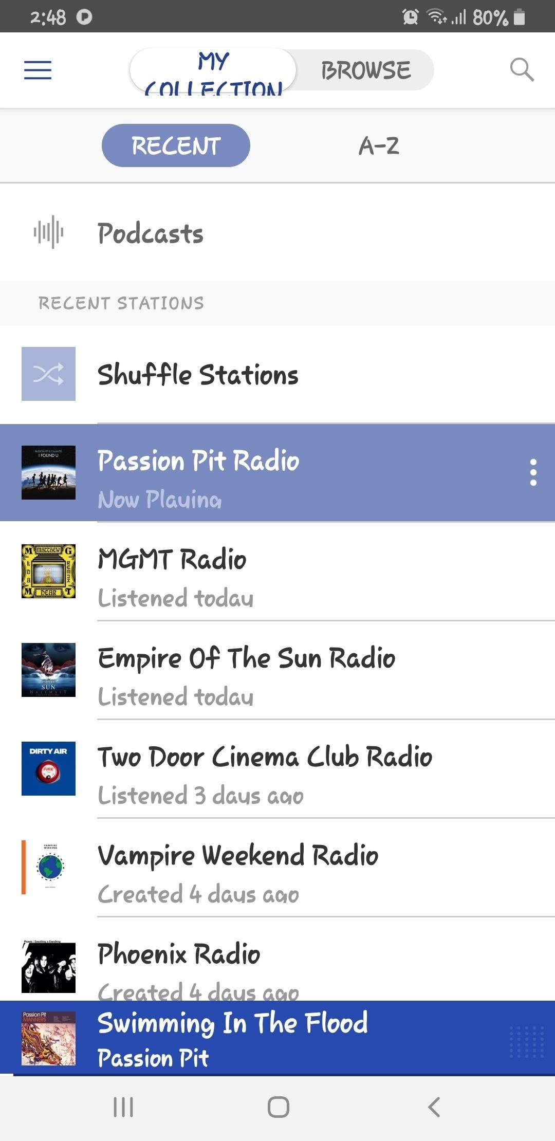 Adding variety to your favorite Pandora stations
