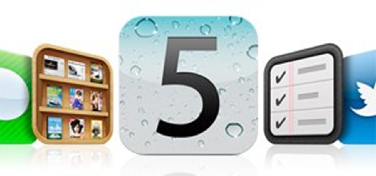Get iOS 5 for Your Apple iPad, iPhone or iPod Touch