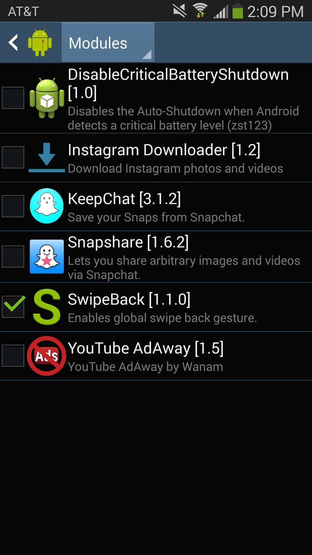 How to Enable the Swipe-Back Gesture for All Apps on the Galaxy Note 2 & 3