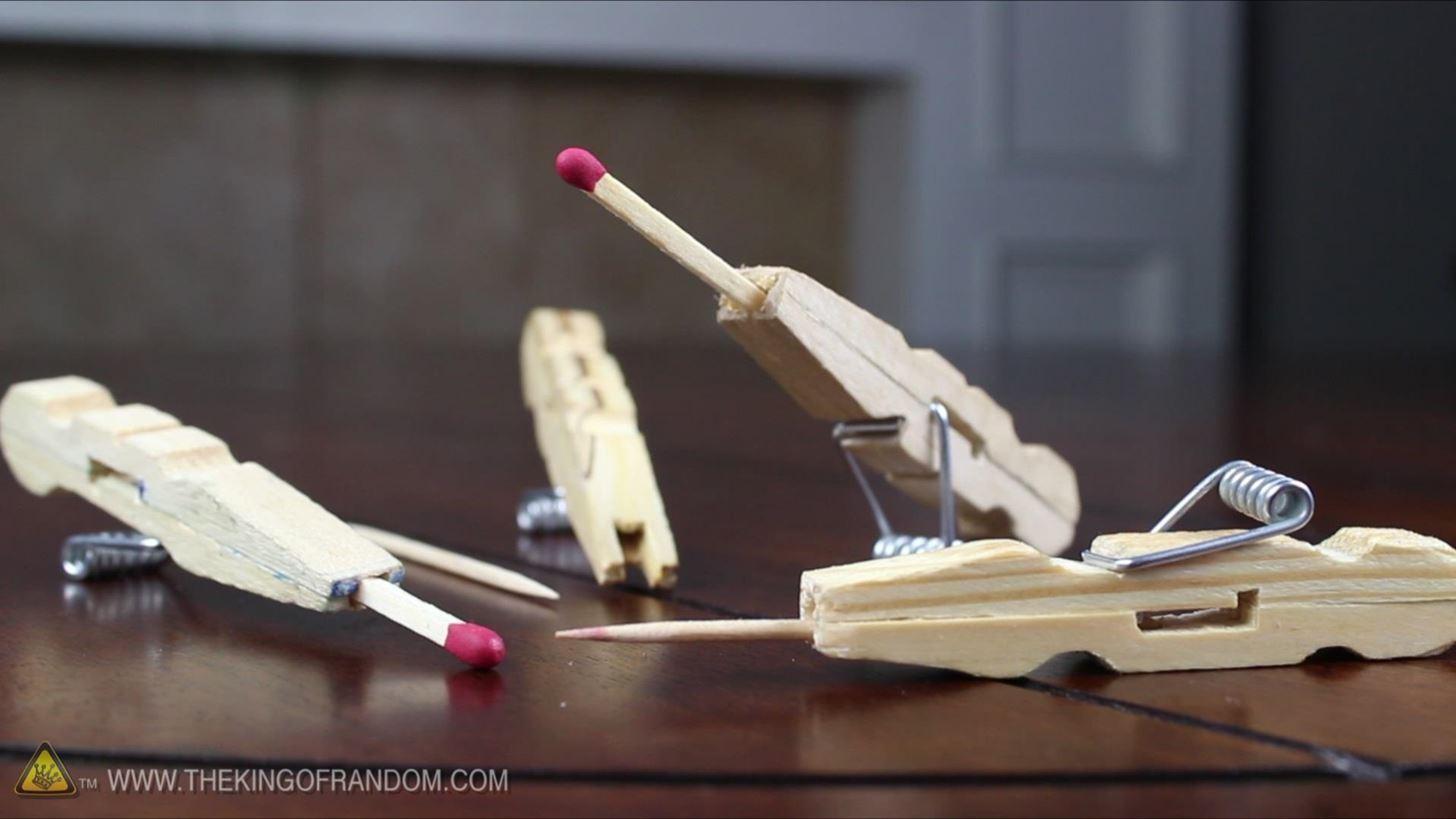 "How to Make a Clothespin Pocket Pistol (AKA Mini Matchstick Gun) "" Hacks, Mods & Circuitry :: Gadget Hacks"