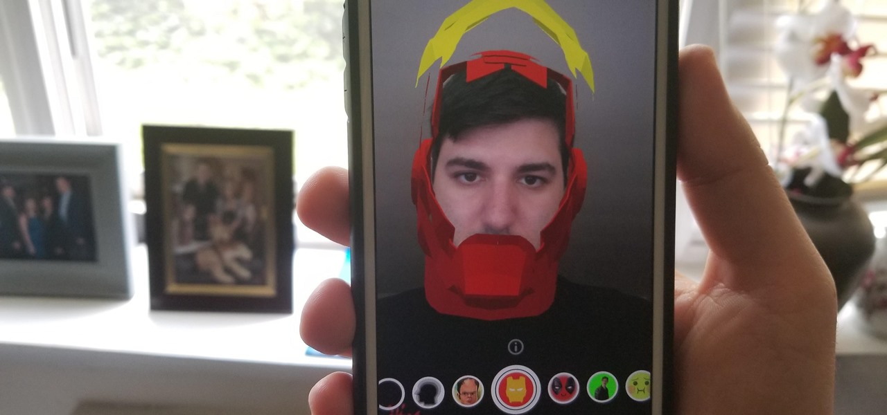 Try These 5 Hot New Snapchat Lenses — Iron Man, iDubbz & More