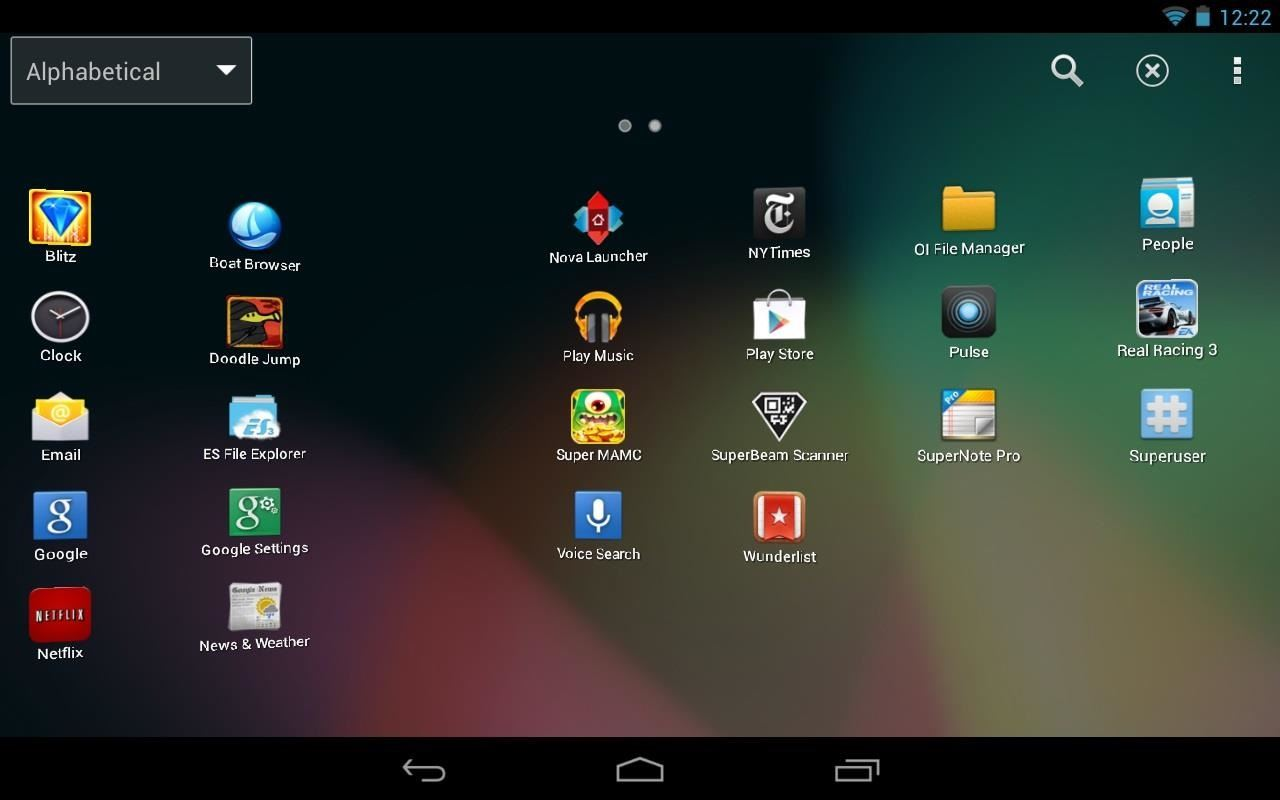 How to Get Sony's Xperia Launcher & Widgets on Your Nexus 7 Tablet