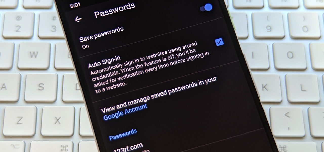 How to Use Your Saved Passwords from Google Chrome to Log