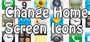 Change home screen icons on an iPod or iPhone