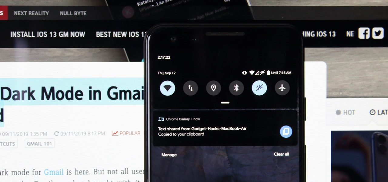 How To: Sync Chrome's Clipboard from Your Desktop to Your Android Phone & Back