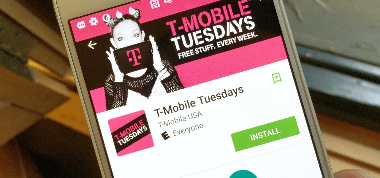 T-Mobile Is Giving Away Free Stuff Every Tuesday