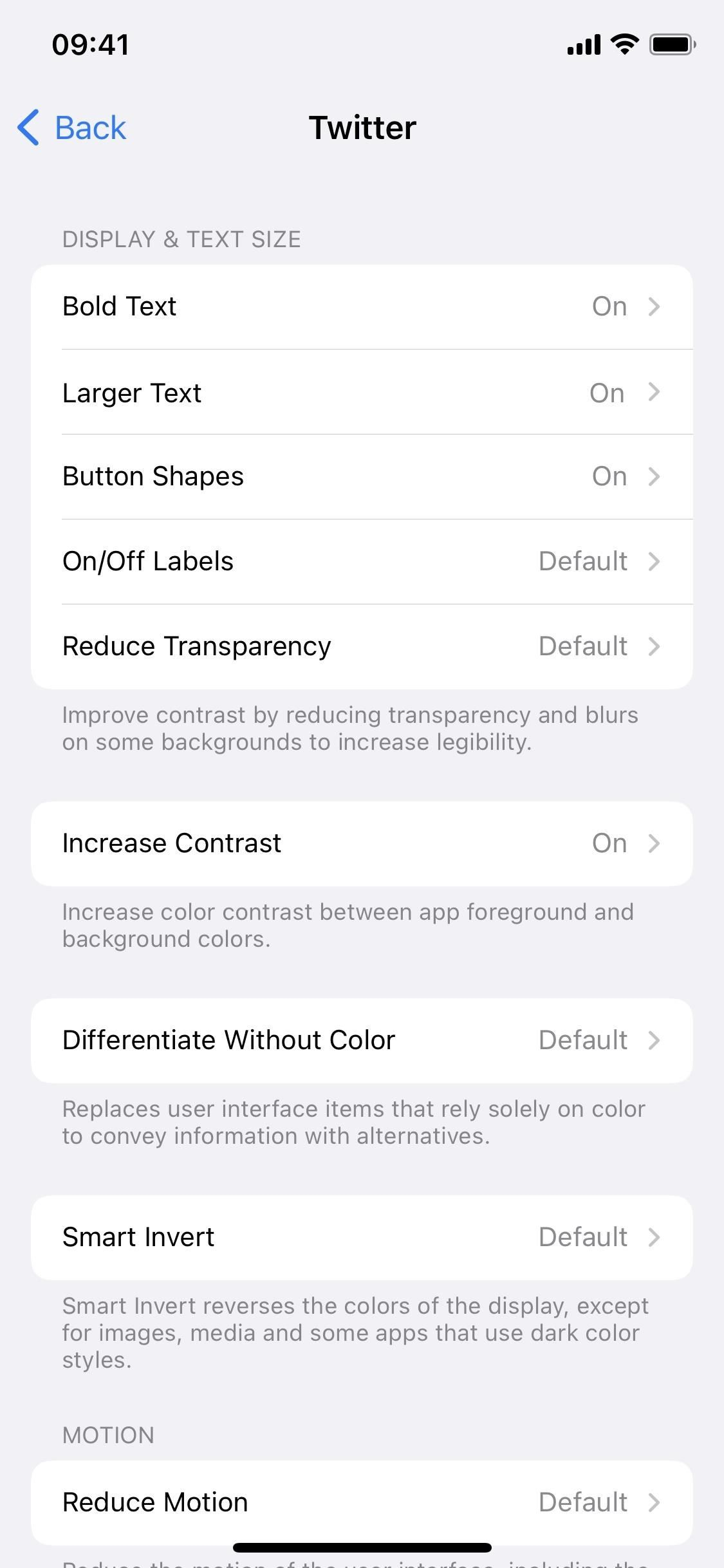 How to Adjust Accessibility Settings on a Per-App Basis on iOS 15