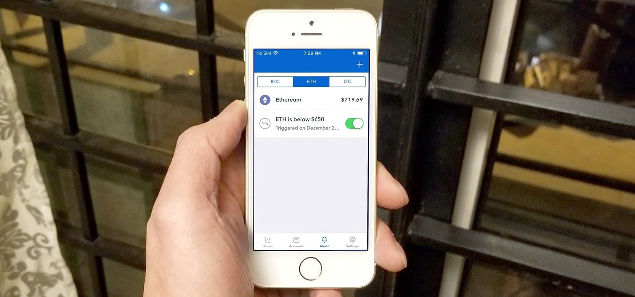 Coinbase 101: How to Enable Price Alerts to Buy or Sell at the