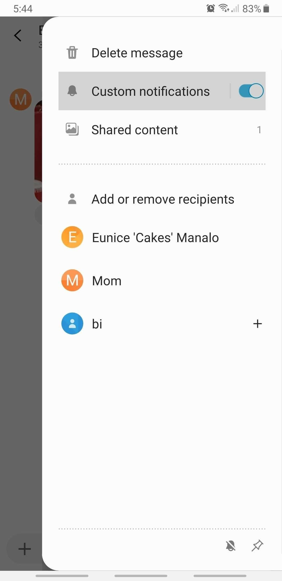 Setting Custom Notification Tones for Individual Contacts in Samsung Messages