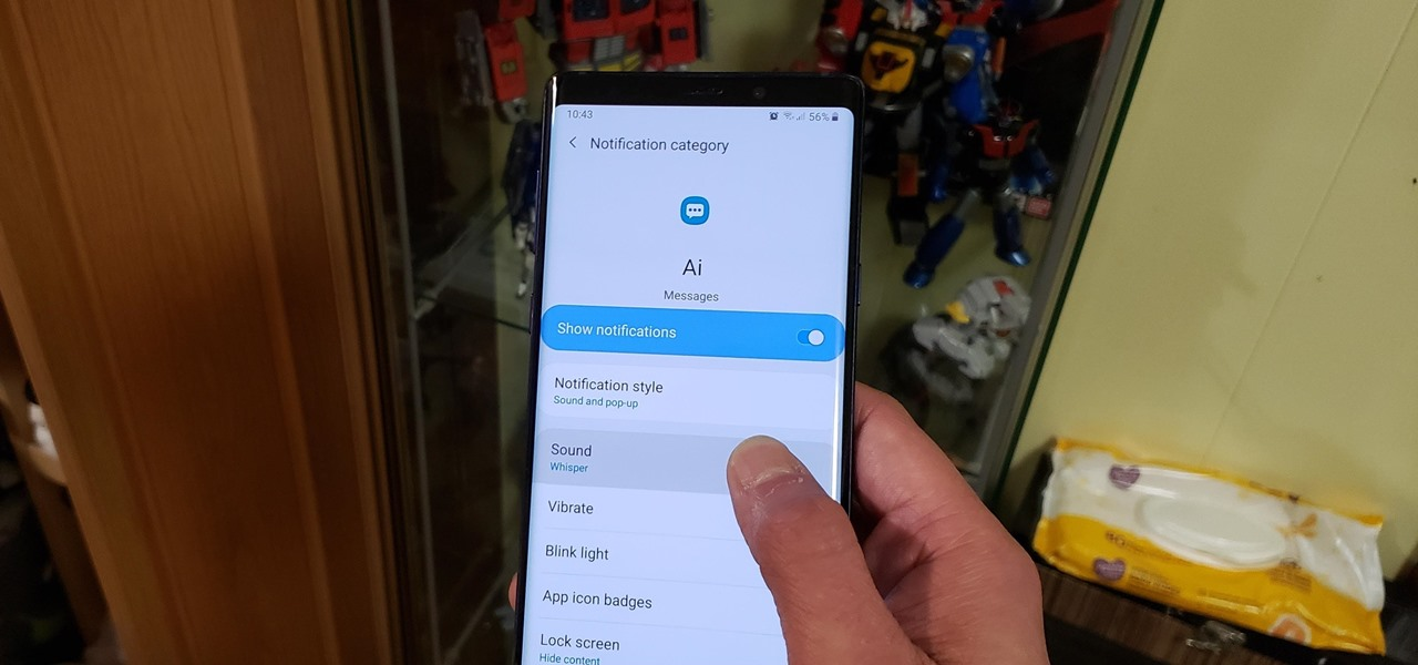 Set Custom Notification Sounds for Individual Contacts in Samsung Messages