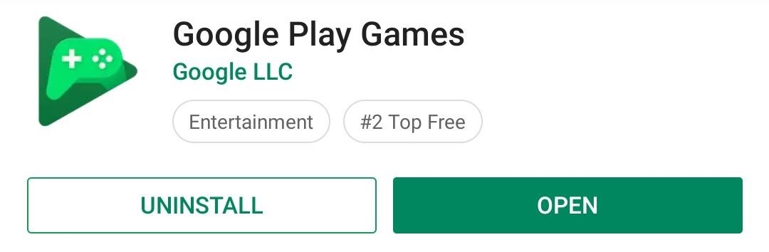 Turn on Dark Mode in Google Play Games