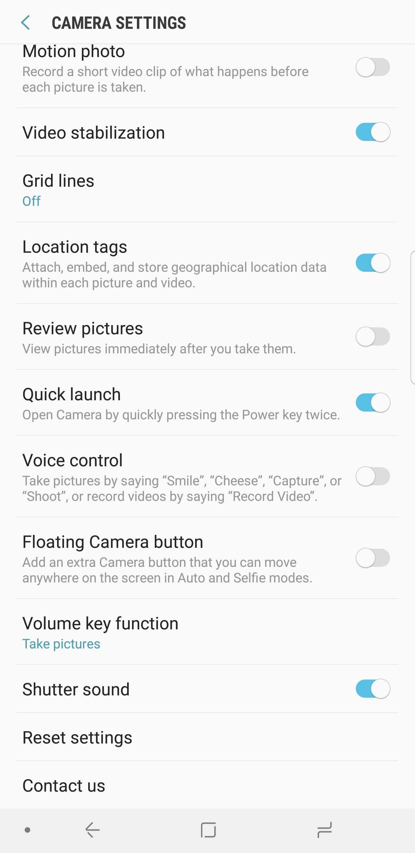 Galaxy S8 Oreo Update: Camera App Gets Note 8 UI & Full View Mode