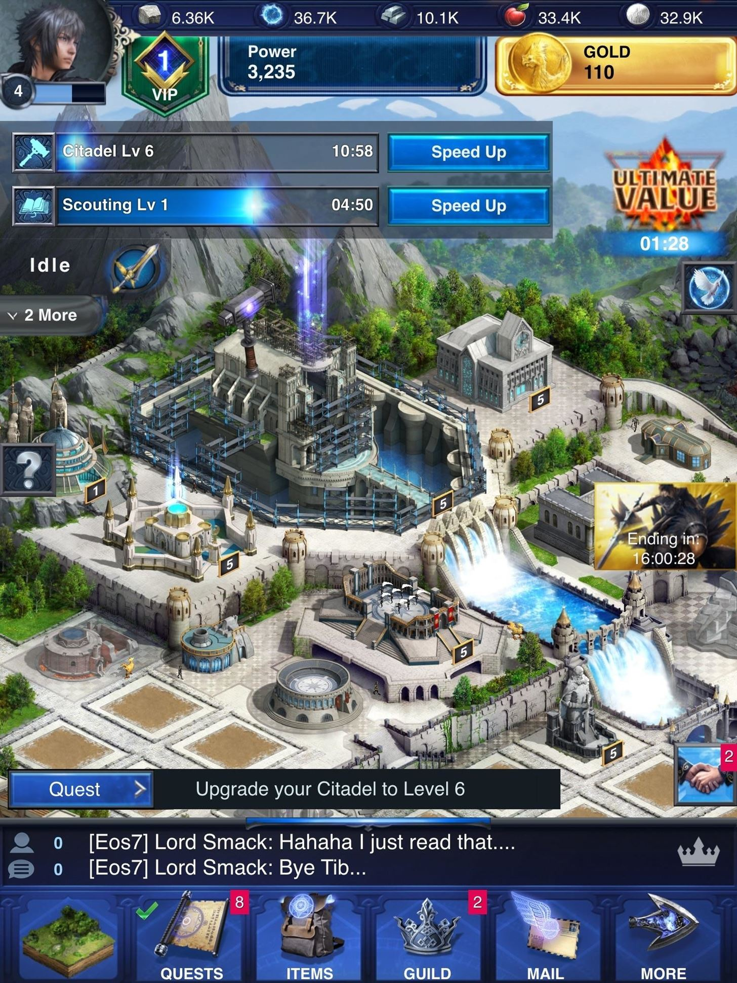 Gaming: Play 'Final Fantasy XV: A New Empire' on Your iPhone