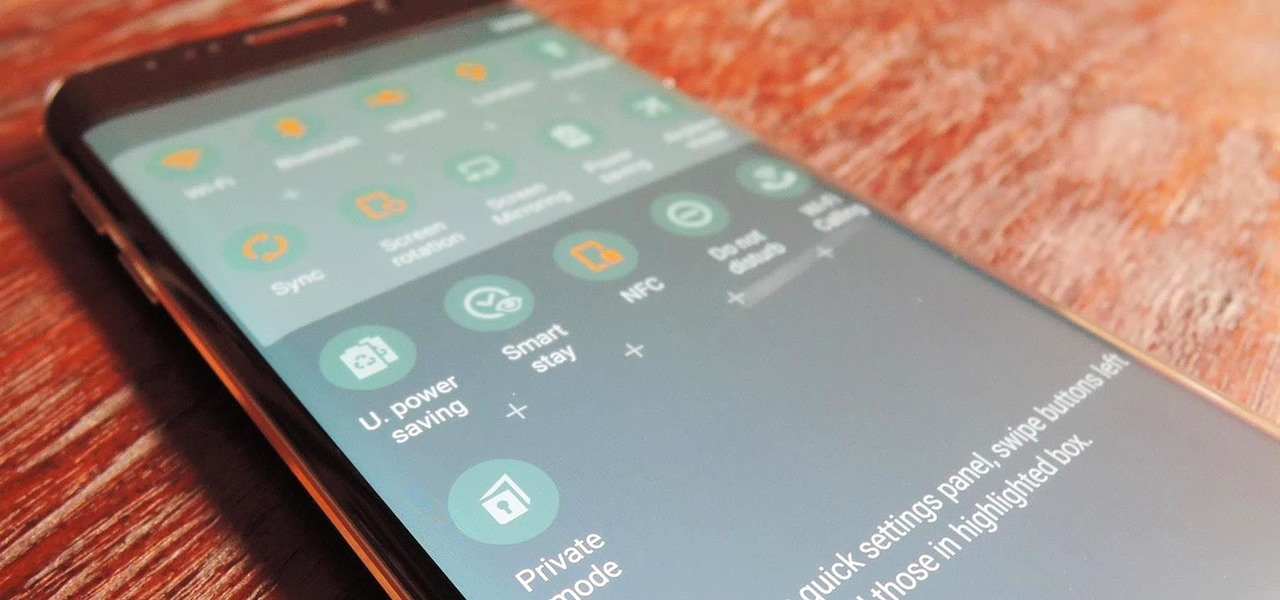 Get Back Missing Toggles in Your Galaxy S6's Quick Settings