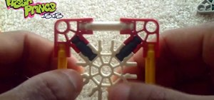 Build a custom iPod/iPhone dock out of K'Nex