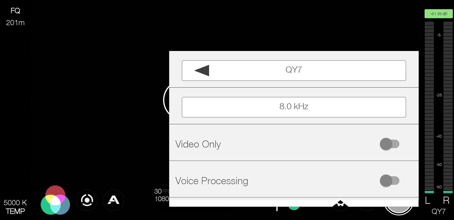Choose Which Microphone Your Phone Uses When Recording Video in Fimic Pro (To Capture Clearer Audio)