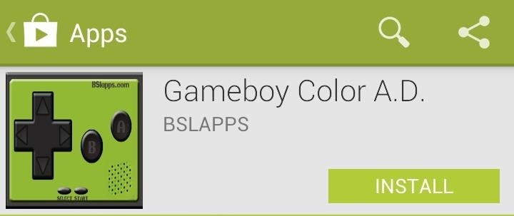 How to Play Metal Gear Solid & Other Game Boy Color Games on Your Samsung Galaxy S3