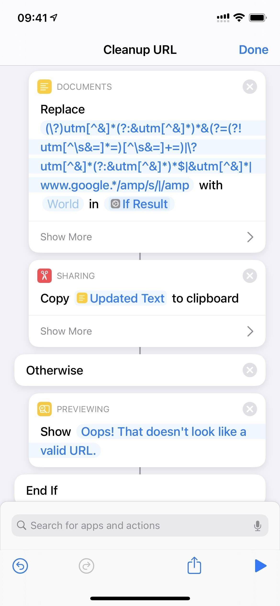 How to Auto-Remove Annoying Tracking Codes in URLs You Share from Your iPhone to Get Cleaner Links