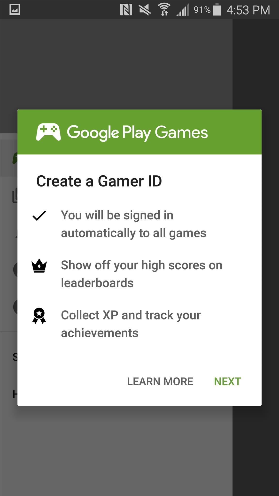 How to Create a Gamertag in Google Play Games