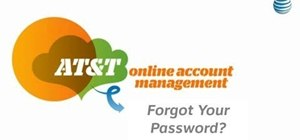 Recover your forgotten password for your AT&T online account