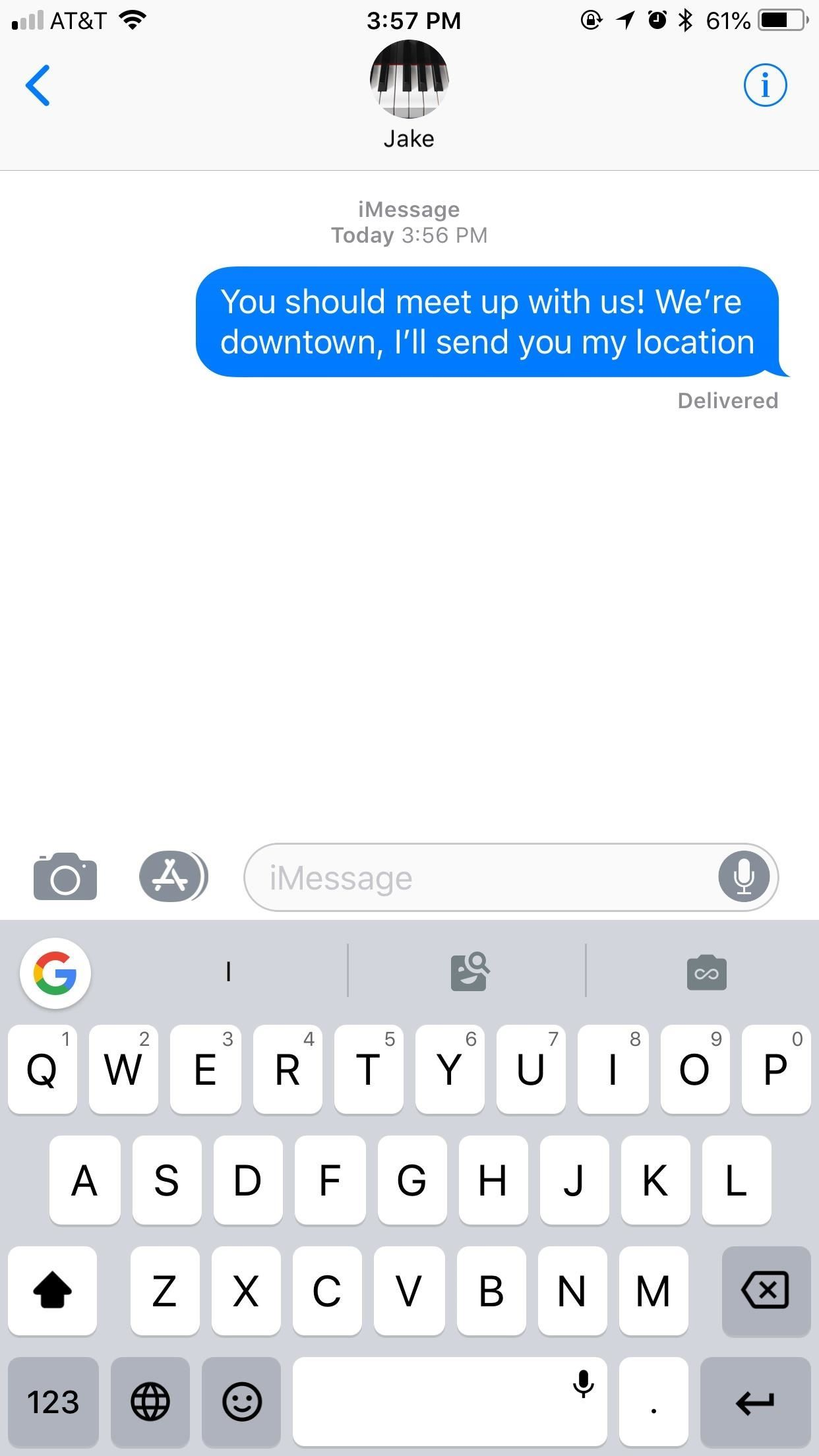 Messages 101: How to Send a Friend a Map to Your Current Location or Let Them Track You While Moving