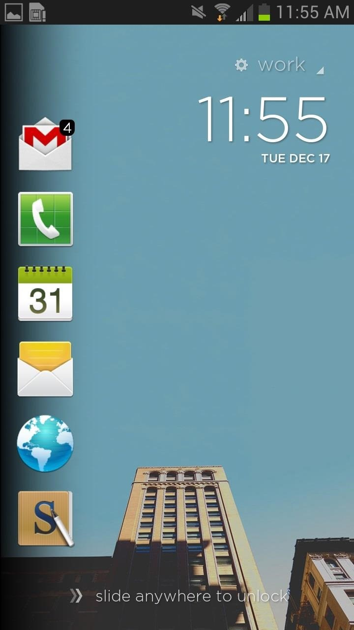 How to Make App Shortcuts on Your Galaxy Note 2's Lock Screen Adapt to Your Routine
