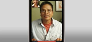 Video chat with friends and family on a T-Mobile myTouch 4G smartphone