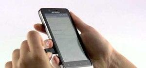 Turn your Motorola Droid Bionic smartphone into a mobile Wi-Fi hotspot
