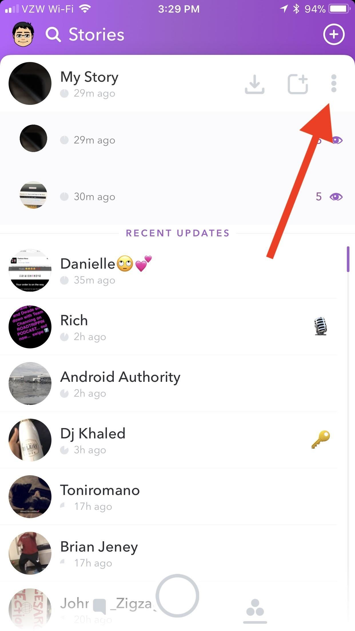Snapchat 101: How to Add or Remove Snaps from 'My Story'