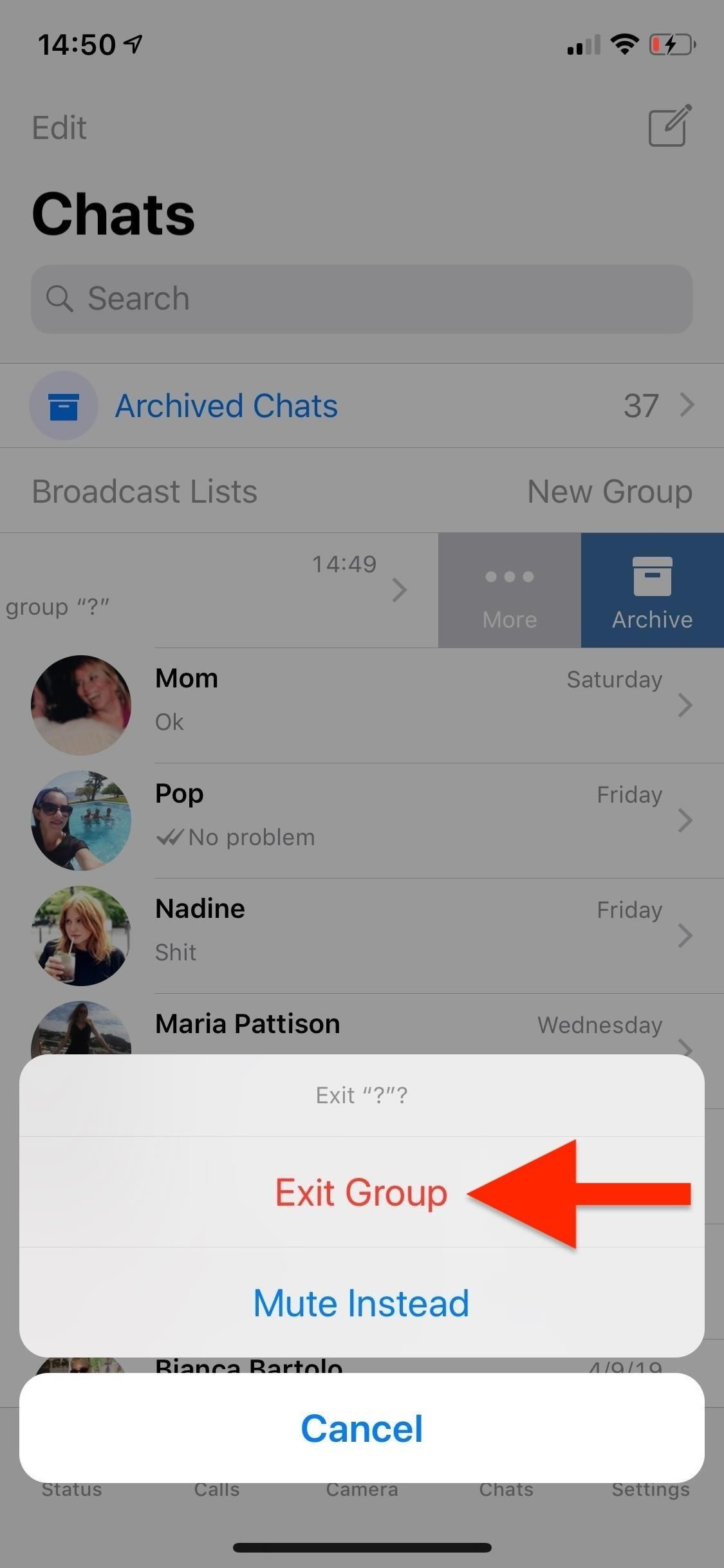 How to Mute or Leave Group Chats in WhatsApp, So You Never Get Annoyed by Notifications