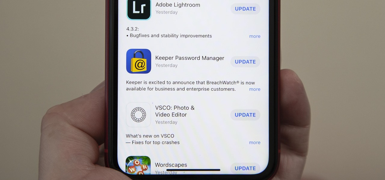 Where's the App Store's 'Updates' Tab? Here's How You Install App Updates Manually Now in iOS 13