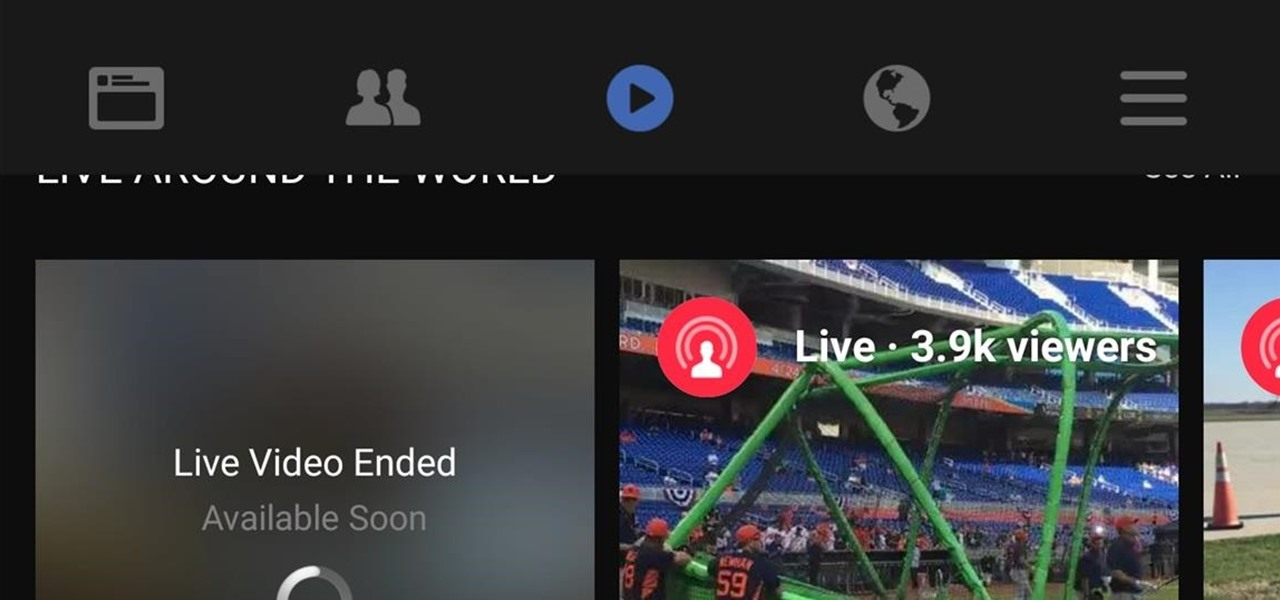 Facebook Is Going All in on Live Video Streaming on Your Phone