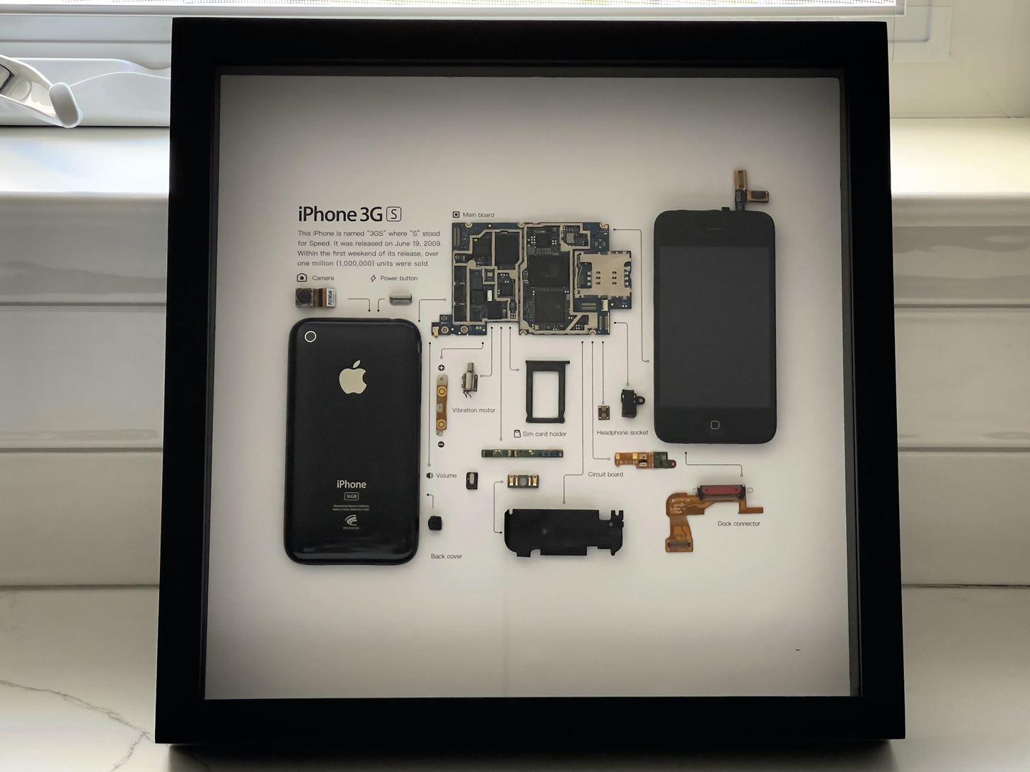 Grid Studio Turns Old iPhones into Works of Art
